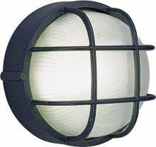 Volume Lighting V8790-5 - 1-light Black Outdoor Wall-Mounted Light Fixture