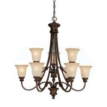 Capital 3569BB-252 - 9 Light Chandelier
