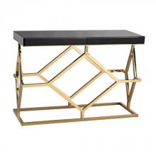 Dimond 1114-169 - Deco Console Table In Black And Gold