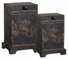 Uttermost 19320 - Uttermost Melani Decorative Boxes, Set/2