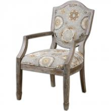 Uttermost 23174 - Uttermost Valene Weathered Accent Chair