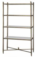 Uttermost 24277 - Uttermost Henzler Mirrored Glass Etagere