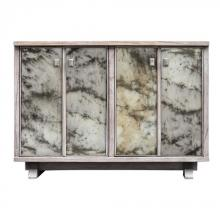 Uttermost 25804 - Uttermost Corban Aged Ivory Console Cabinet