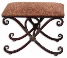 Uttermost 26122 - Uttermost Manoj Distressed Small Bench