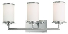 Minka-Lavery 3723-77-pl - 3 Light Bath
