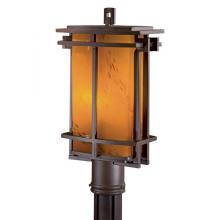 Minka-Lavery 72016-a615b-pl - One Light Bronze Post Light