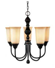 Savoy House 1-1700-5-13 - Five Light English Bronze Up Chandelier