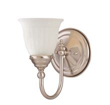 Savoy House 1062-1-SN - Brunswick Bath 1 Light Sconce