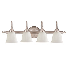 Savoy House 1062-4-SN - Brunswick 4 Light Bath Bar