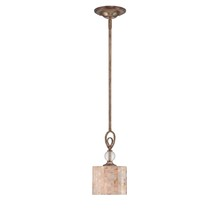 Savoy House 7-3538-1-128 - One Light Oxidized Silver Down Mini Pendant