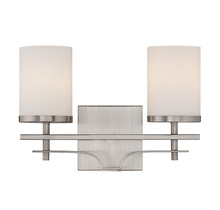 Savoy House 8-338-2-SN - Colton 2 Light Bath Bar