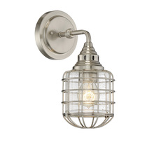Savoy House 9-575-1-SN - Connell 1 Light Sconce
