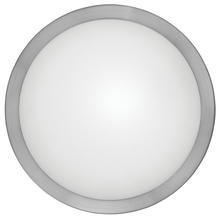 Eglo US 87328A - 1x60W Wall/Ceiling Light w/ Matte Nickel Finsh & Frosted Glass