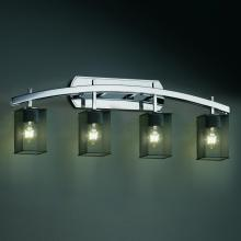 Justice Design Group MSH-8594-15-CROM - Archway 4-Light Bath Bar