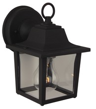 Craftmade Z190-05F - Black Wall Lantern