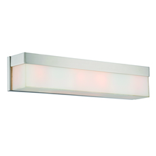 Crystorama 294-PN - Libby Langdon for Crystorama Grayson 4 Light Polished Nickel Vanity Light