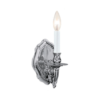 Crystorama 645-PW - Crystorama Arlington 1 Light Pewter Sconce III