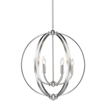 Golden 3167-6 PW - 6 Light Chandelier
