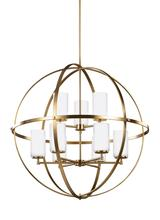 Sea Gull 3124609EN-848 - Nine Light Chandelier