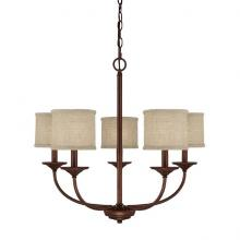 Capital 3925BB-468 - 5 Light Chandelier