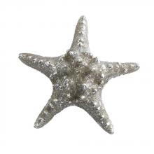Deco Breeze CDL5448 - Candle - Starfish Silver