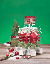 Deco Breeze NAT10113 - COR Holiday Red & Green