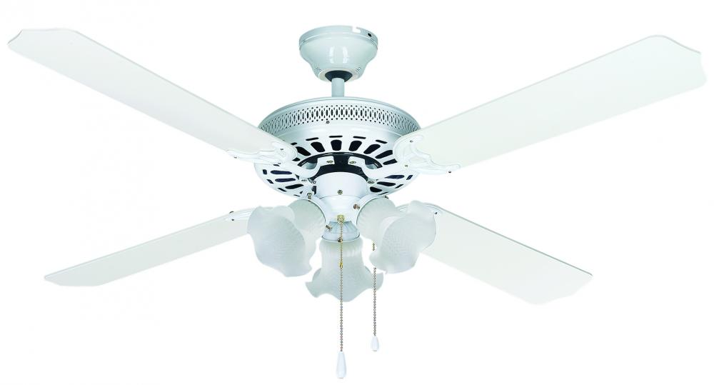 Chateau 52 in ceiling fan chateau ii wh lighting emporium chateau 52 in ceiling fan aloadofball Image collections
