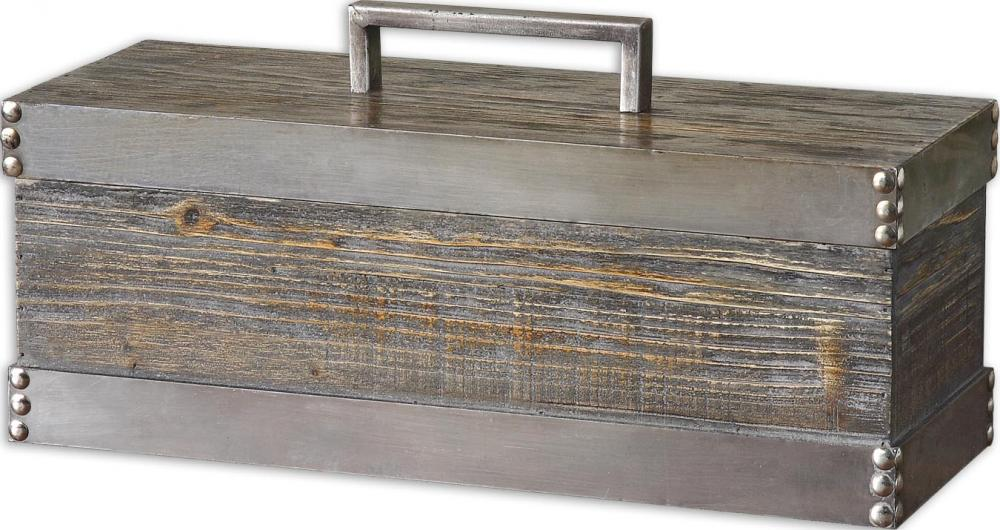 Lighting Emporium in SPRINGDALE, Arkansas, United States, Uttermost 19669, Uttermost Lican Natural Wood Decorative Box, Lican