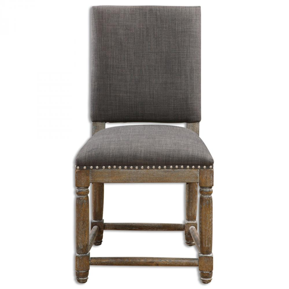 Uttermost Laurens Gray Accent Chair