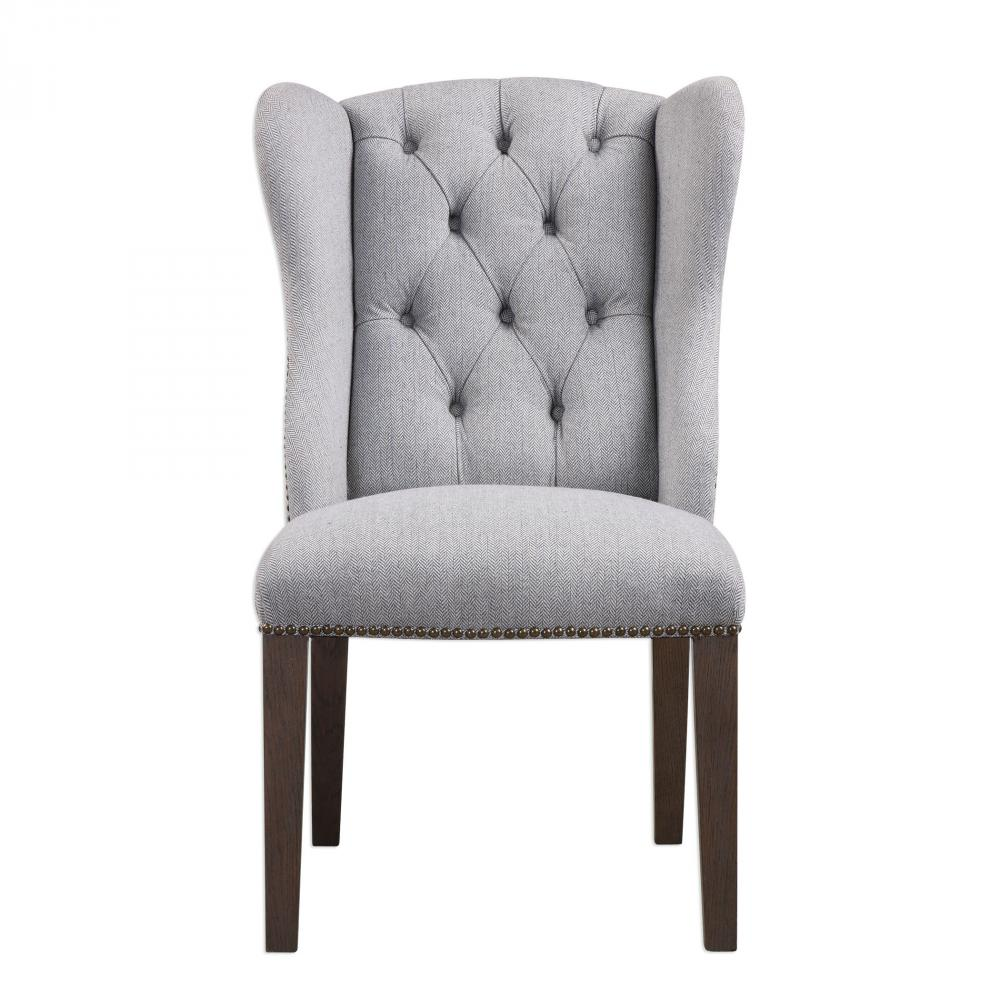 Lighting Emporium in SPRINGDALE, Arkansas, United States, Uttermost 23382, Uttermost Jonna Wingback Accent Chair, Jonna