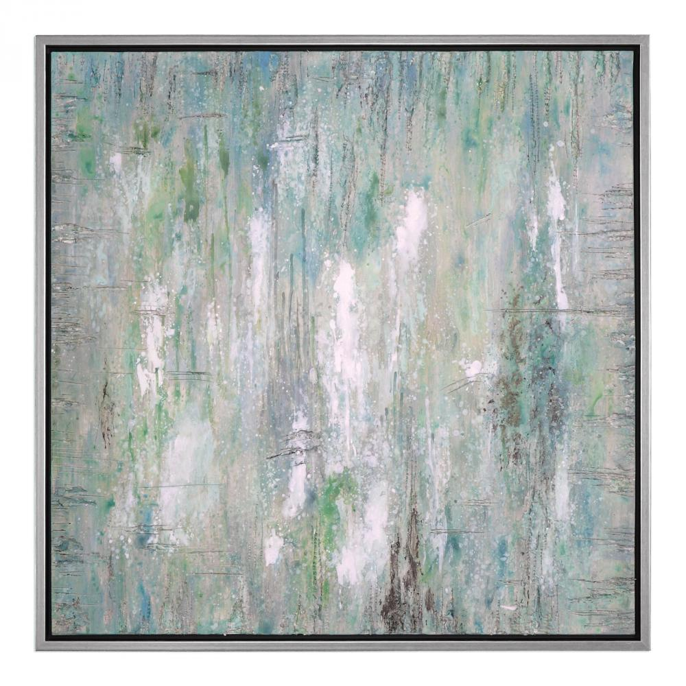 Uttermost Flowing Along Abstract Art