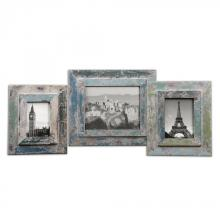 Uttermost 18560 - Uttermost Acheron Photo Frames, S/3