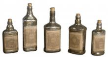 Uttermost 19754 - Uttermost Recycled Bottles Set/5