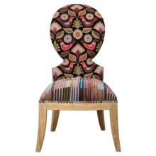 Uttermost 23170 - Uttermost Cruzita Patterned Armless Chair