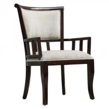 Uttermost 23656 - Uttermost Orlin Mahogany Accent Chair