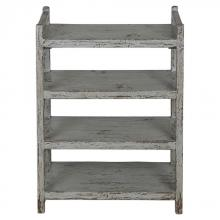Uttermost 24644 - Uttermost Reilley Gray Shoe Rack