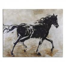 Uttermost 34262 - Uttermost Blacks Beauty Horse Art