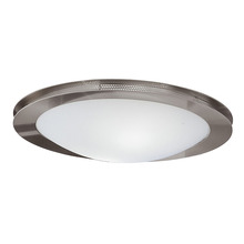 Nickel Sonneman 3753.35 3-Light Bowl Flush Mount Light Fixture