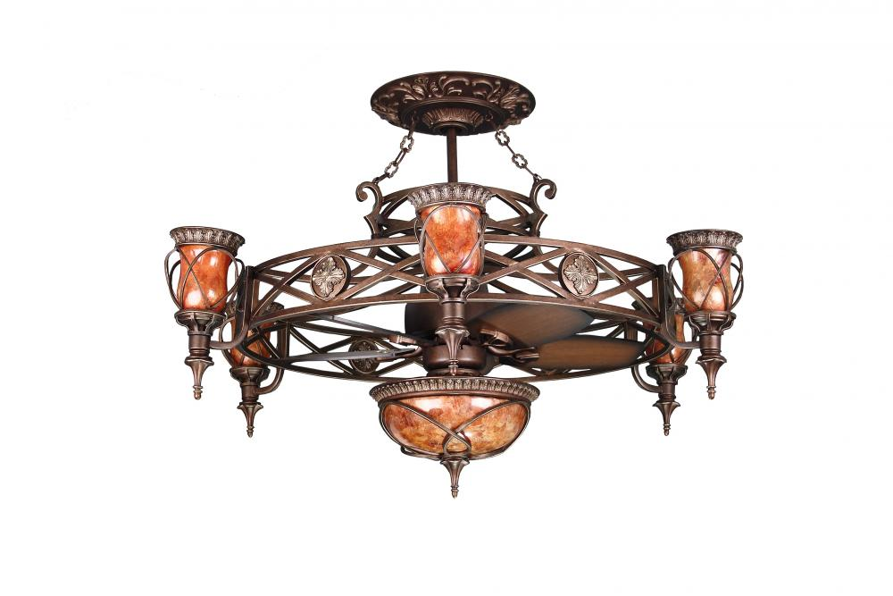 Bronze ceiling fan 30mal5sbz lighting emporium bronze ceiling fan aloadofball Choice Image